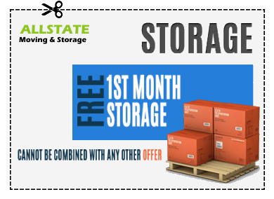 A coupon for 1 month free storage.