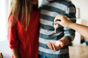 moving new home keys