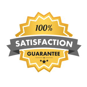 """""""100% satisfaction guarantee"""" written on a surface in the shape of the sun - a promise made by Allstate movers Frederick MD"""