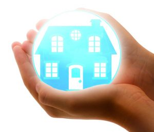 moving insurance places your home on your palm