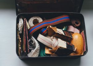 box with items