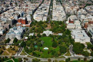 Aerial view of Washington