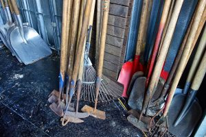 Pack your tool shed the right waY!
