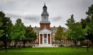 Johns Hopkins, one of the top colleges in Maryland