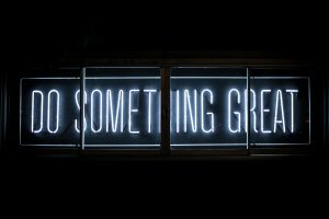 do something nice sign
