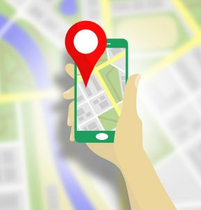 google maps is a great way to get around in new cities