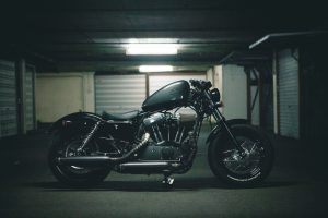 Garage is the best place to be storing your motorcycle