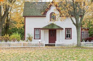 get a small house when you are buying your first home