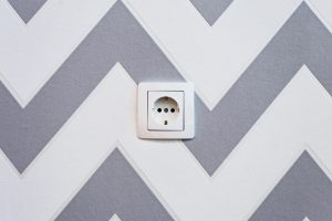 Childproof your new home by closing off the sockets in your walls