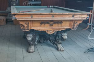 move a pool table safely that is quite old
