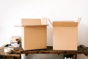 pack in large moving boxes only the lighter things like pillows and sheets