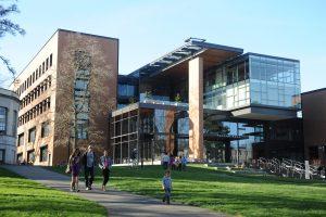 image of a university edifice