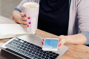 A person googling why millennials move to Washington DC