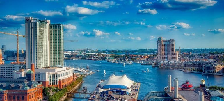 inner harbor is one of the reasons to move from Frederick to Baltimore