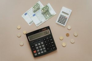 money and calculators