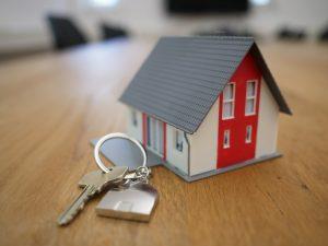 a key and a house
